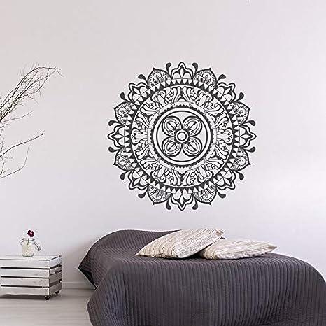 Ajcwhml Mandala Tatuajes de Pared Yoga Dormitorio Dormitorio ...