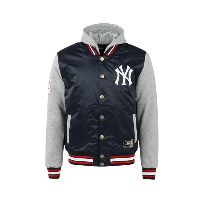 Majestic Atheltic Besson con Cappuccio New York Yankes MLB Varsity Giacca  Invernale Imbottito (a6nyy5511nvy012) Navy S  Amazon.it  Abbigliamento 163704bd1326