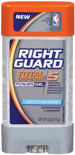 Right Guard Total Defense 5 Power Gel Antiperspirant/Deodora