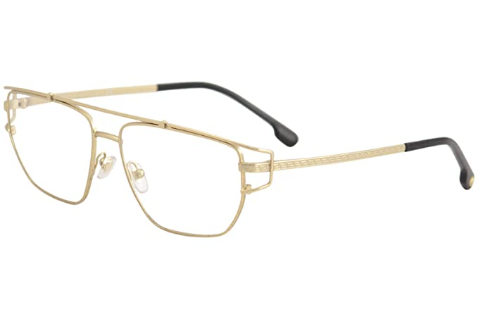 4aa8644cce4 Image Unavailable. Image not available for. Colour  Versace VE1257 Eyeglass  Frames 1410-55 - Matte Gold ...