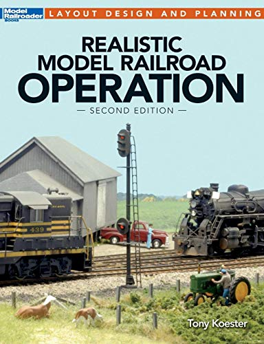 - Realistic Model Railroad Operation (Layout Design and Planning)