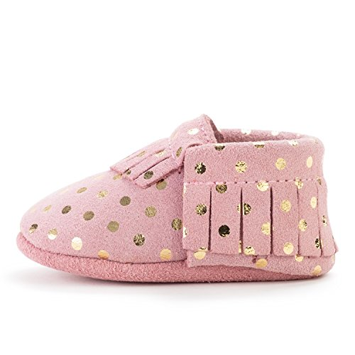 BirdRock Baby Moccasins - 30+ Styles for Boys & Girls! Every Pair Feeds a Child (US 6.5, Confetti) (New Bird Shoes)