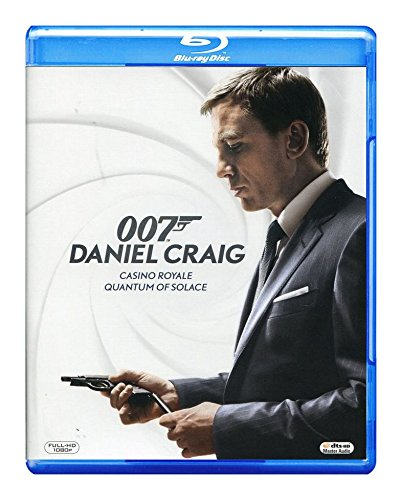 007 James Bond: Daniel Craig Collection - Casino Royale / Quantum of Solace [2Blu-Ray] (English audio. English subtitles)