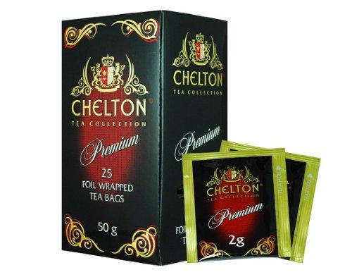 Englischer schwarzer Premium-Tee, 25 Beutel