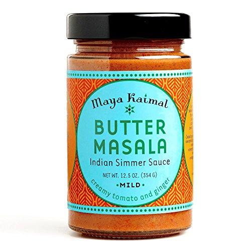 Maya Kaimal Butter Masala Indian Simmer Sauce 12.5 oz each (3 Items Per Order)