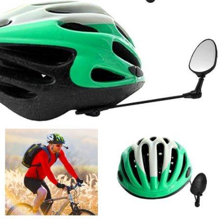Life On Bicycle 360 Degree Adjustable Rearview Bicycle Helmet Mirror ()