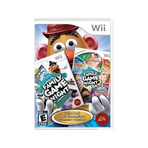 Hasbro Family Game Night Value Pack Usa Wii-Pussycat