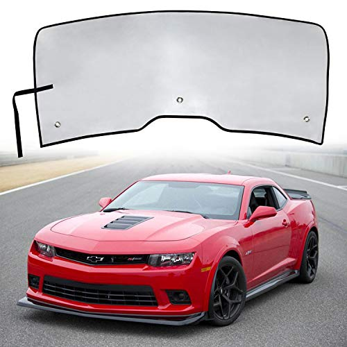 Danti Custom Fit Windshield Sun Shade Visor Sunshade Cover for Chevy Camaro 2016 2017 2018 - Camaro Windshield