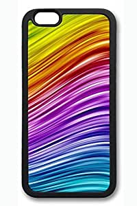 The Colorful Lines 3 Slim Hard Cover for iPhone 6 Case (4.7 inch) PC White Cases by lolosakes
