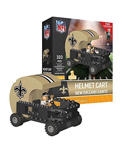 NFL New Orleans Saints Sports Fan Bobble Head Toy Figures, Black/tan, One Size
