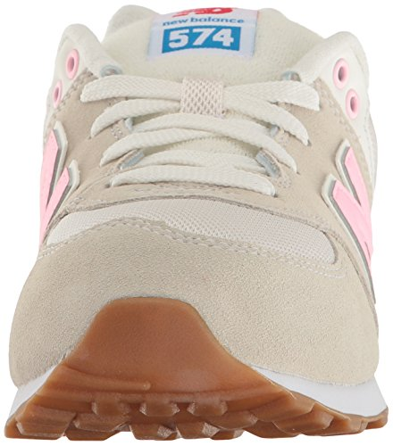 Basse Balance Cut Paste 574 Da Scarpe And Pink Unisex Grey Ginnastica Bambini New qwB8dxZEq