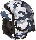 #8: The Children's Place Big Boys' Camoflauge Trapper Cold Weather Hat