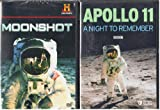 The History Channel Moonshot The Apollo 11 Story , The BBC : Apollo 11 A Night To Remember The First Moon Landing : 2 Pack