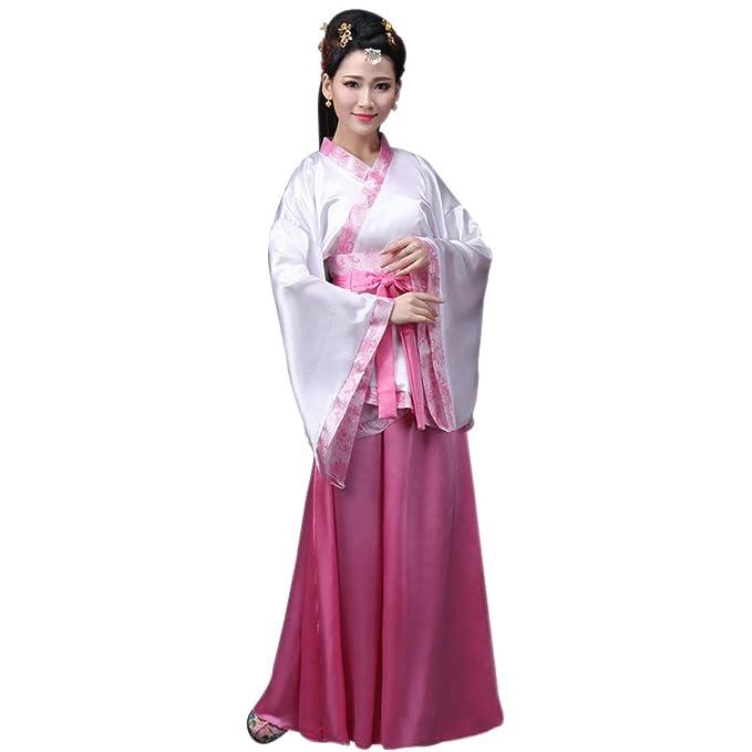 YIHIGH Mujeres Elegante Ropa de Cosplay Traje de Tang Estilo Chino Antiguo Vestido Hanfu Princesa Chaise