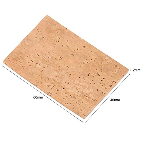 10Pcs Saxophone Neck Corks + 10PCS Clarinet Neck Joint Cork Sheets Instrument Accessories Replacement Kits by VGEBY (Image #4)