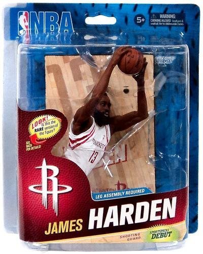 - McFarlane Toys NBA Sports Picks Series 23 Action Figure James Harden (Houston Rockets) White Uniform Collector Level by NBA Basketball Sportspicks Series 23 Action Figures