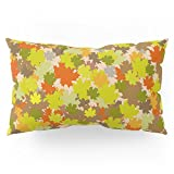 Society6 Bed Of Leaves Pillow Sham King (20'' x 36'') Set of 2