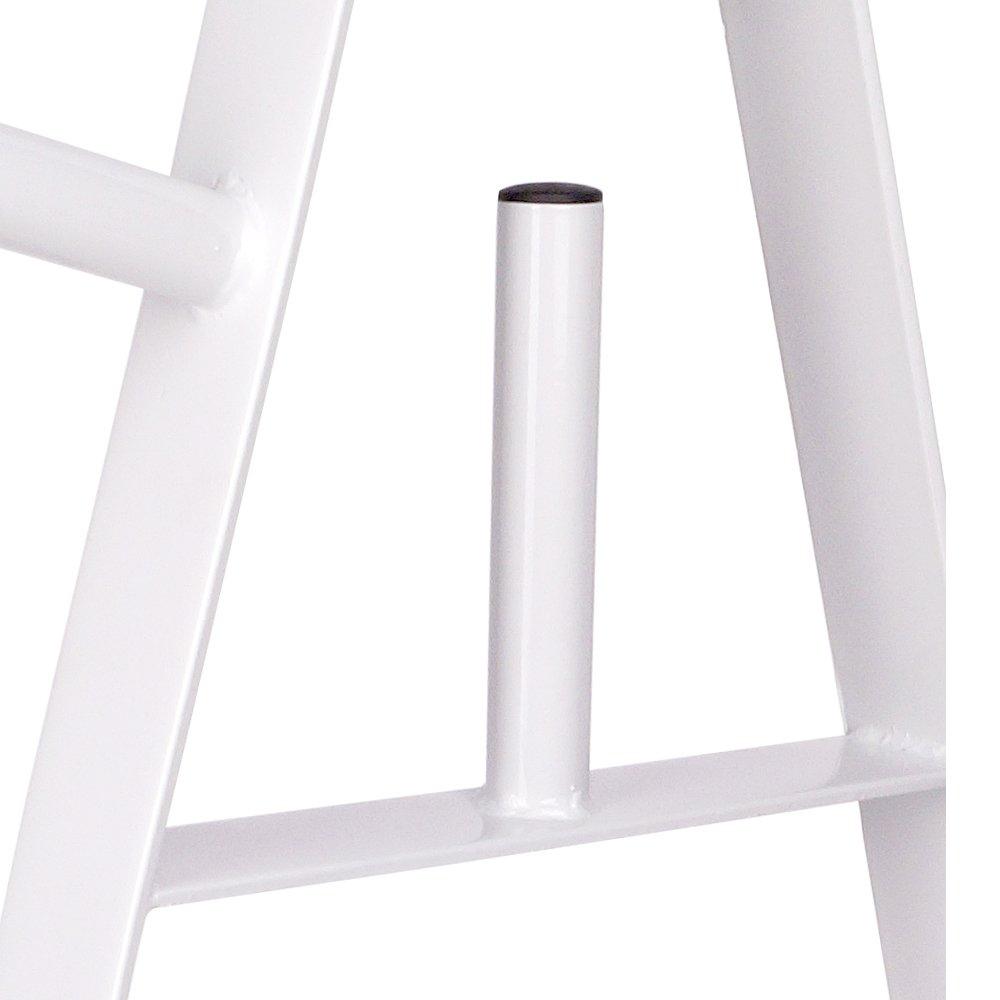 wei/ß ScSPORTS Hantelscheibenst/änder bis 200 kg mit 30 mm Scheibenaufnahme