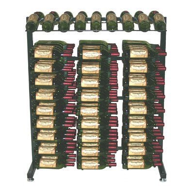 VintageView 3 Foot Island Display Wine (Island Display Rack)