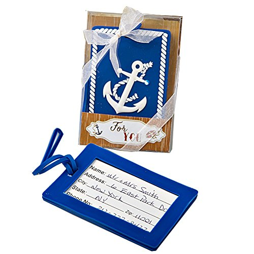 Nautical Anchor Design Luggage Tag