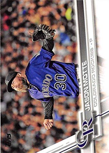 2017 Topps Series 2 #559 Jason Motte Colorado Rockies Baseball (559 Series)