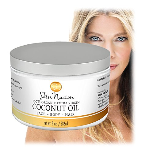 100 % Pure Body Scrub Organic Virgin Coconut - 5