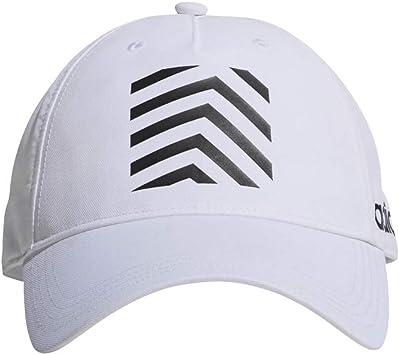 adidas C40 Gr Cap Gorra, Hombre, Blanco/Negro, Talla Única: Amazon ...