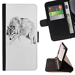 - Clown Evil Joker Pattern - - Premium PU Leather Wallet Case with Card Slots, Cash Compartment and Detachable Wrist Strap FOR LG OPTIMUS L90 King case