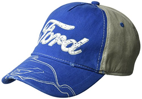 Ford  Distressed Screen Print  Baseball Cap - Golf Screen Print Cap