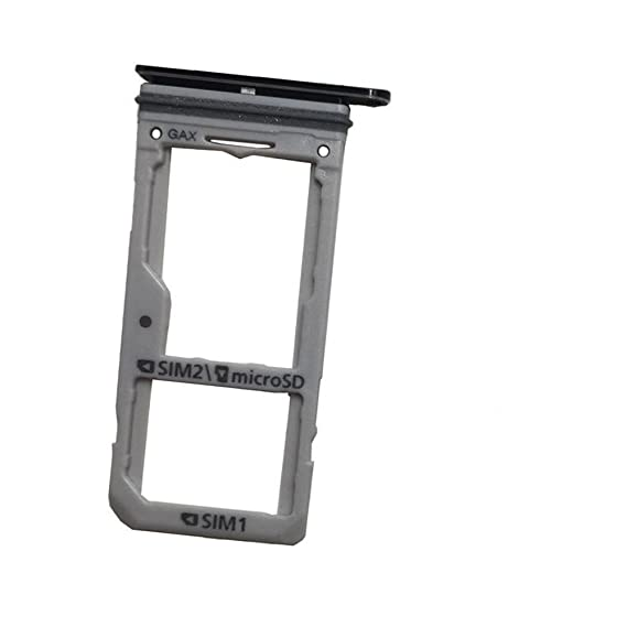 Welche Sd Karte Für S8.Replacement Dual Sim Card Micro Sd Card Holder Slot Tray For Samsung Galaxy S8 S8 Plus G955 S8 G950 Dual Sim Midnight Black