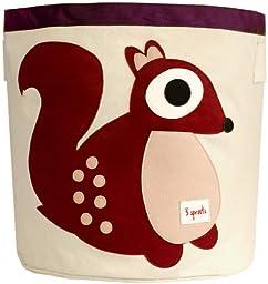 3 Sprouts Storage Bin, Squirrel