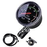 Bike Speedometer Odometer Mountain Cycling Round Meter Gauges Stopwatch Waterproof Riding Equipment