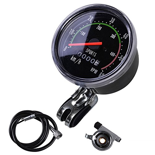 Bike Speedometer Odometer Mountain Cycling Round Meter Gauges Stopwatch Waterproof Riding Equipment