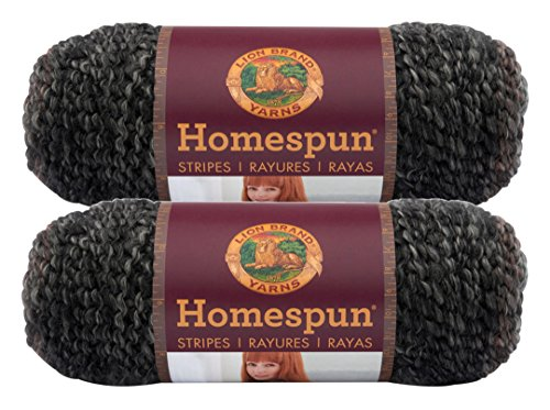 Bulk Buy: Lion Brand Homespun Yarn (2-Pack) (Midnight Stripes #790-238)