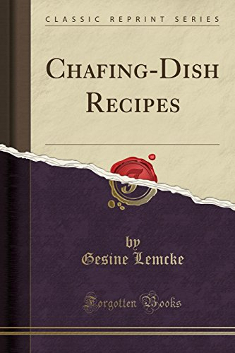 Chafing Dish Recipes - 8