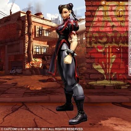 Amazon Com Super Street Fighter Iv Chun Li Black Variant Play