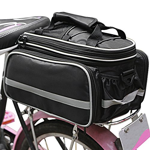 Bukm Bicycle Rear Seat Trunk Bag Handbag Bag Pannier