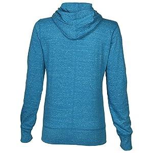Nike Women's Gym Vintage Full-Zip Hoodie Jacket, Black/Sail,(Black/Sail, Medium)