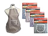 APRON CHECKERED 19.7*28.7, Case of 144