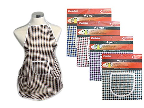 APRON CHECKERED 19.7*28.7, Case of 144 by DollarItemDirect