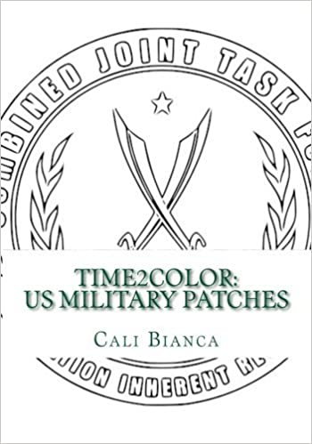 Amazon.com: Time2Color: US Military Patches: A Pocket PTSD ...