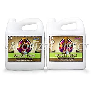 Advanced Nutrients Jungle Juice 2-Part Coco Grow Part A+B Soil Amendments, 10 l
