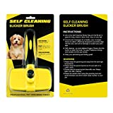 BAODATUI Self Cleaning Slicker Brush, Pet Grooming Brush for Dogs and Cats,