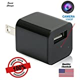 Usb Spy Camera Motion Detection Hidden Wall Charger HD 1080P [Newest Model] 2018 - Charge Phone/Tablet Nanny Cam