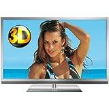 Grundig FineArts 55 FLE 9170 SL 140 cm (55 Zoll) 3D LED-Backlight-Fernseher (Full HD, 400 Hz PPR, DVB-T/C/S2, 4x HDMI, USB 2.0, CI+) silber