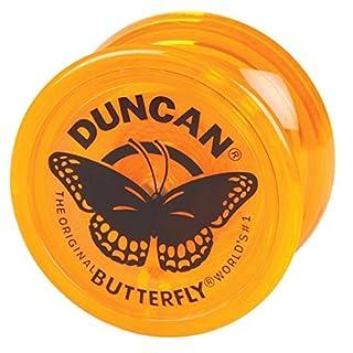 Genuine Duncan Butterfly Yo-Yo Classic Toy - Orange