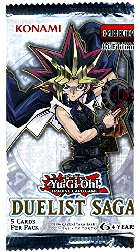 Yugioh Duelist Saga Booster Pack (5 Cards) Sealed