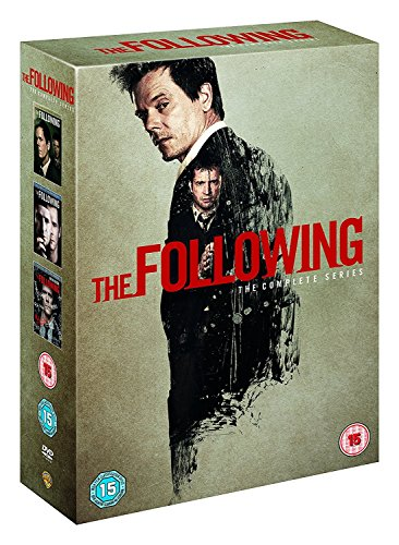 : The Following (Complete Series) - 12-DVD Box Set ( The Following - Seasons 1, 2 & 3 ) [ NON-USA FORMAT, PAL, Reg.2 Import - United Kingdom ]