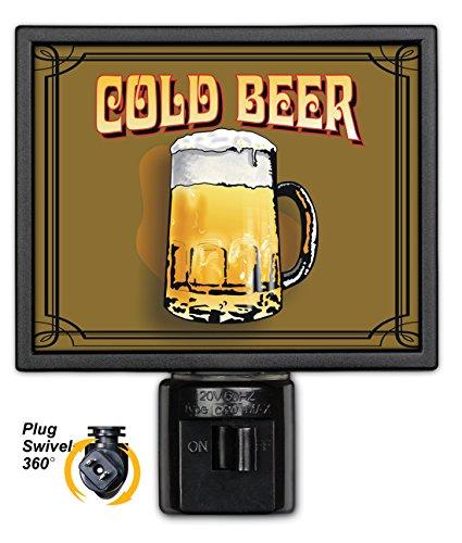 Art Plates NL-460 Cold Beer Night Light