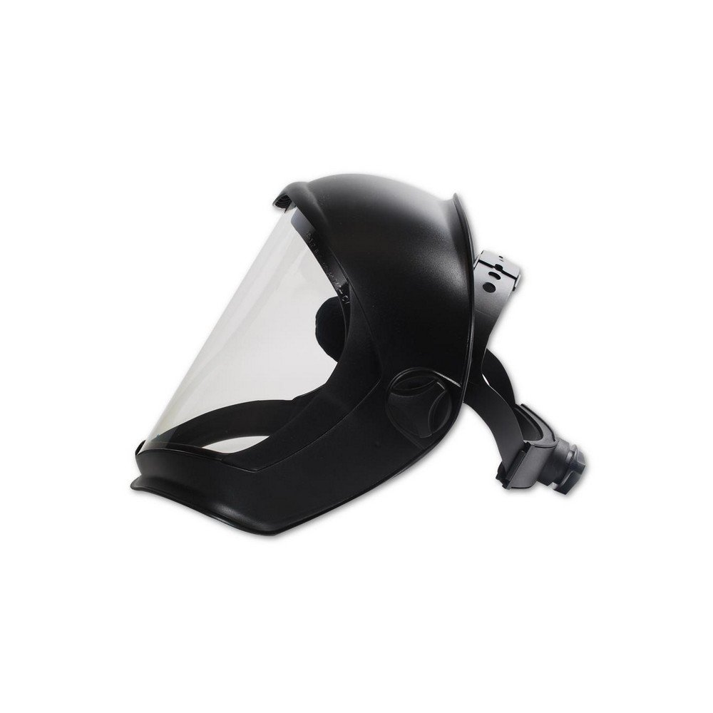 Uvex by Honeywell S8510 Bionic Face Shields, Hardcoat/Antifog, Clear/Black Matte